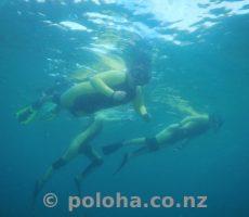 EMR kids snorkeling